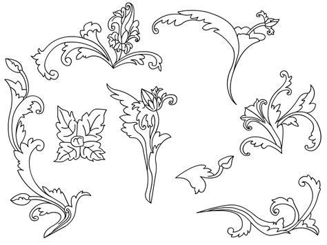 corak bunga png joy studio design gallery  design
