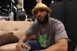 Rapper Andre Johnson, aka Christ Bearer