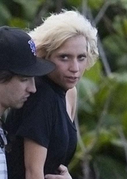 Lady GaGa without make-up