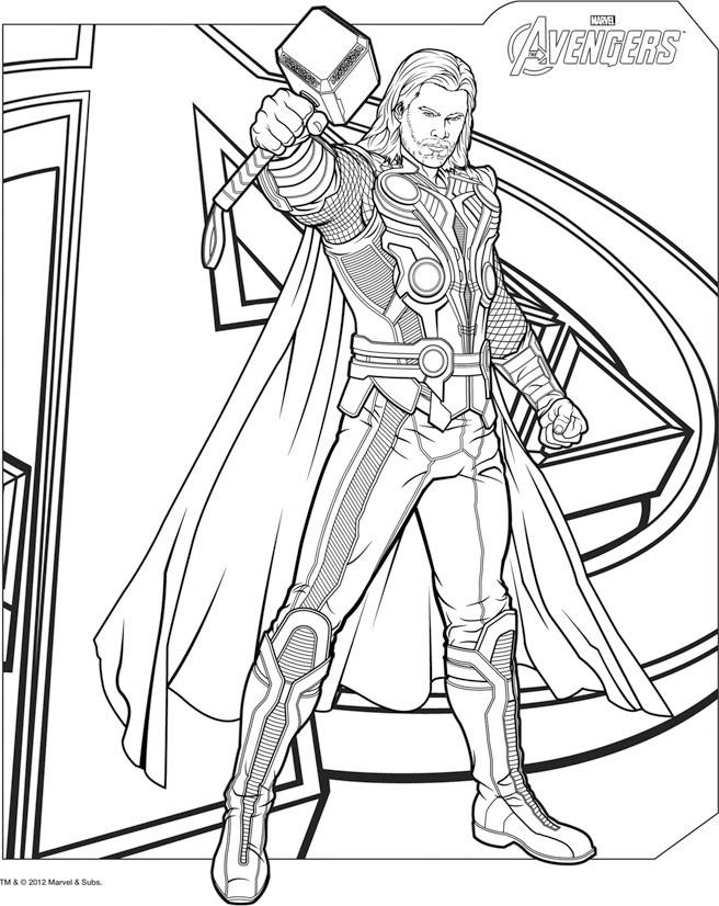 160 Dessins De Coloriage Avengers à Imprimer Sur Laguerchecom Page 13