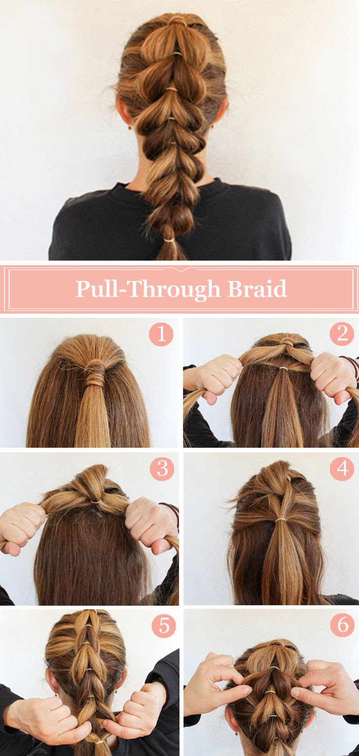 15 Adorable French Braid Ponytails for Long Hair - PoPular ...