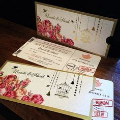 Marigold Finery: Red Thread Ceremony Invitation Cards , E