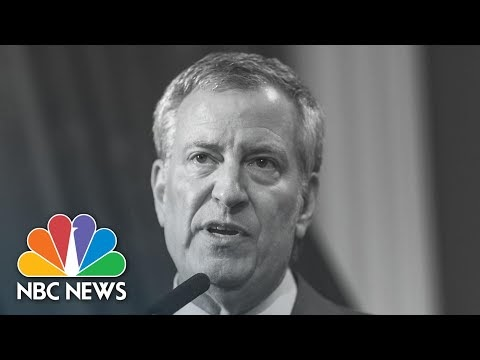 New Yorkers Criticize Mayor De Blasio Over Public Housing During The RNC