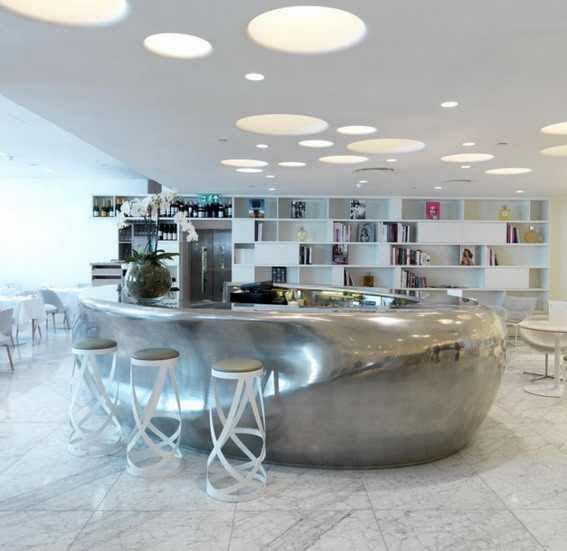 luxury restaurant interior design