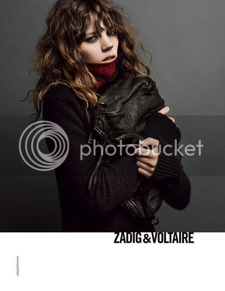 Zadig & Voltaire fall winter 2013 campaign