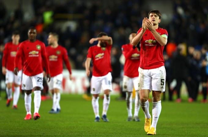 VIDEO: Club Brugge 1:1  Manchester United /  Europa League