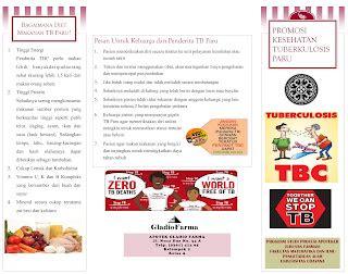 promosi kesehatan tuberkulosis paru media promosi