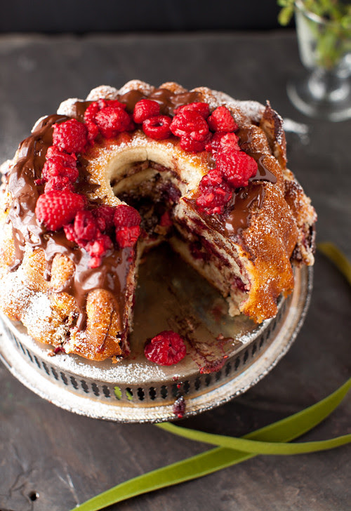 Raspberry Coffee Cake 2