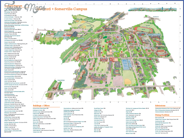 Tufts Campus Map Tufts Campus Map | Bedroom 2018