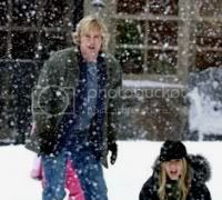 Marley and Me is a Christmas movie hence the snow!