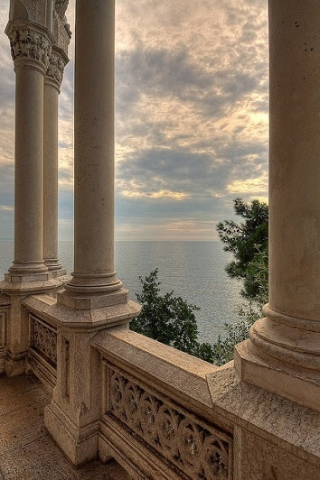 Miramare Castle | Bay of Grignano, Trieste, Italy