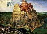 1000ピース バベルの塔(ピーテル・ブリューゲル)<世界最小ジグソー> TW-1000-803