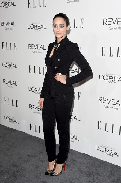 Actress Emmy Rossum attends ELLE's 21st Annual Women in Hollywood Celebration at the Four Seasons Hotel on October 20, 2014 in Beverly Hills, California.