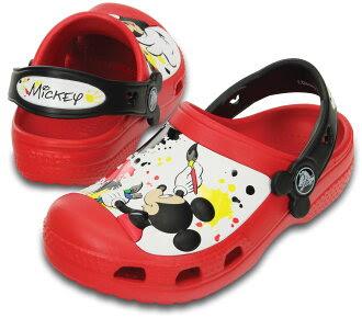 Creative Crocs Mickey Paint Splatter Clog 0