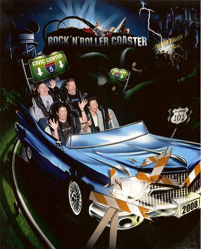 Rock n roll rollercoaster