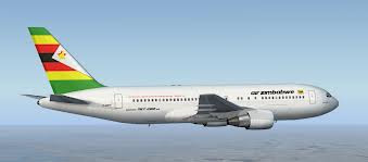 Air Zimbabwe 767 in new livery