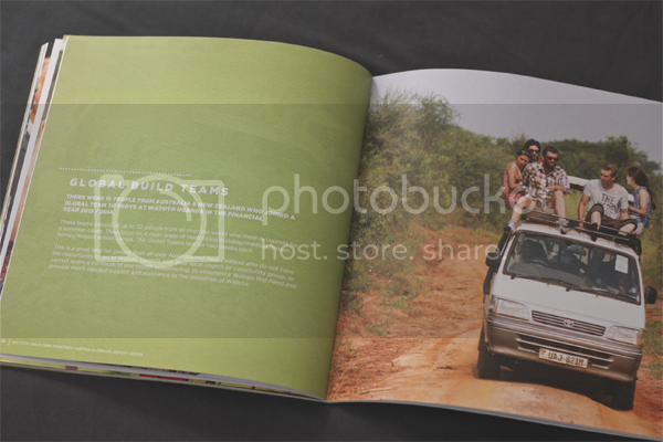 Annual Report for Watoto Charity photo