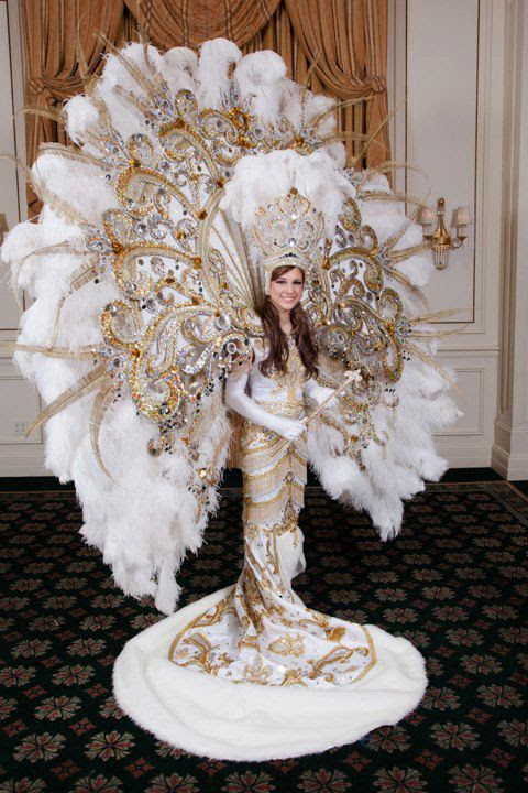 Mardi Gras costume I think I could pull it off!!!