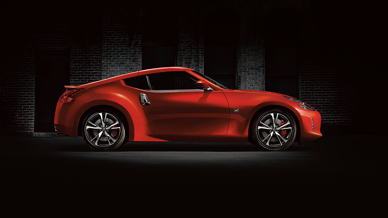 2019 Nissan 370Z red color in night uhd wallpaper cars 4k concept wallpaper