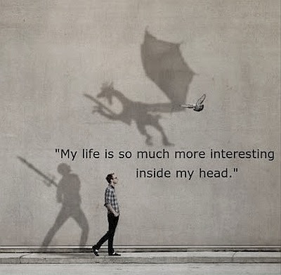 The Life Inside My Head Quote Picture