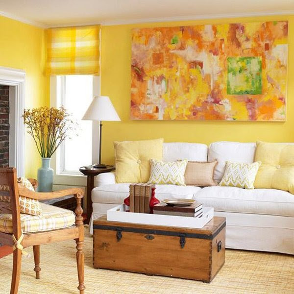 Decorating With Yellow Walls Living Room