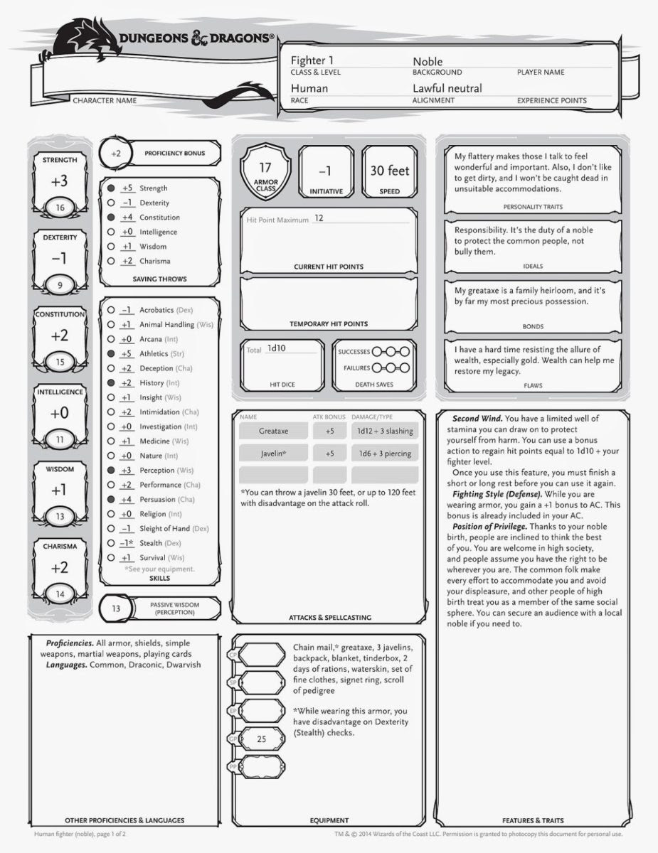 My First D&D Experience: Lessons Learned