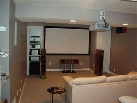 terrific small home theater ideas  good