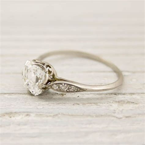 1.01 Carat Asscher Cut Diamond Engagement Ring by Tiffany