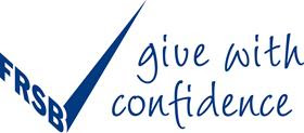 FRSB 'Give with confidence' tick