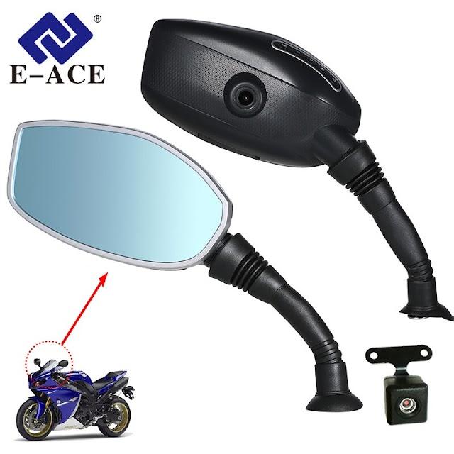 Kopen Goedkoop E ACE Motorfiets Camera DVR Dash Cam Motorbike Achteruitkijkspiegel Digitale Video Recorder Dual Lens Met Achteruitrijcamera Auto Registrar Online