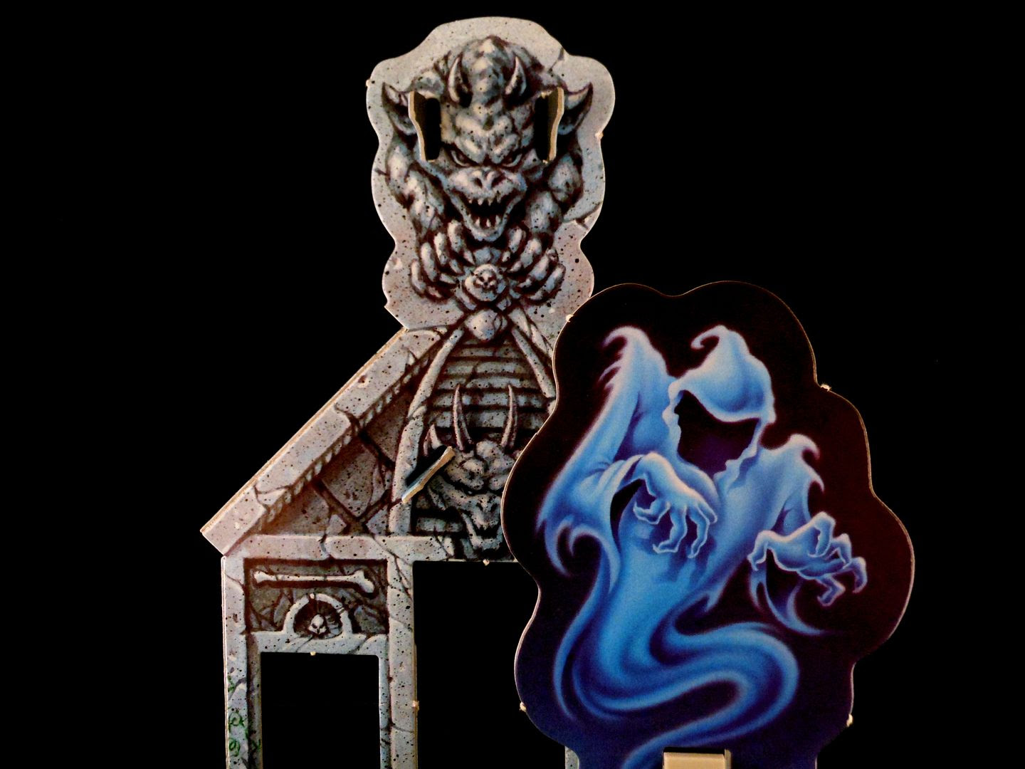 The headless ghost is waiting for you in the Goosebumps Terror in the Graveyard board game.
