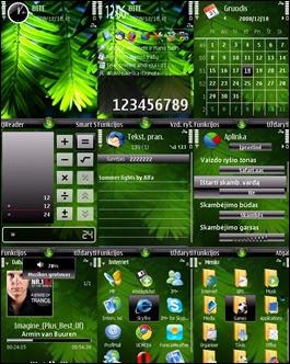 Tema Nokia E71 Wallpaper
