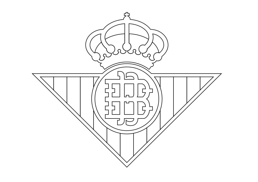 Escudo Del Fc Barcelona Para Dibujar