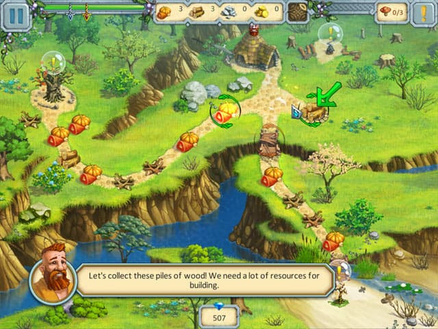 Druid Kingdom Free PC Game Screenshot
