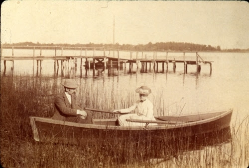 Image result for Irish couple in rowboat on lake