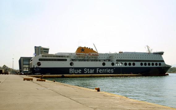 Μύκονος: Επεισοδιακός απόπλους για το Blue Star 2! Μπλέχτηκε κάβος στην προπέλα