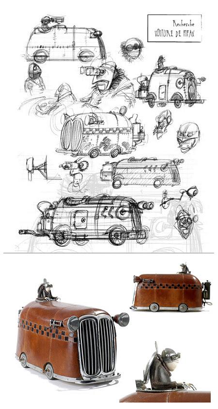 Steampunk by Stephane Halleux