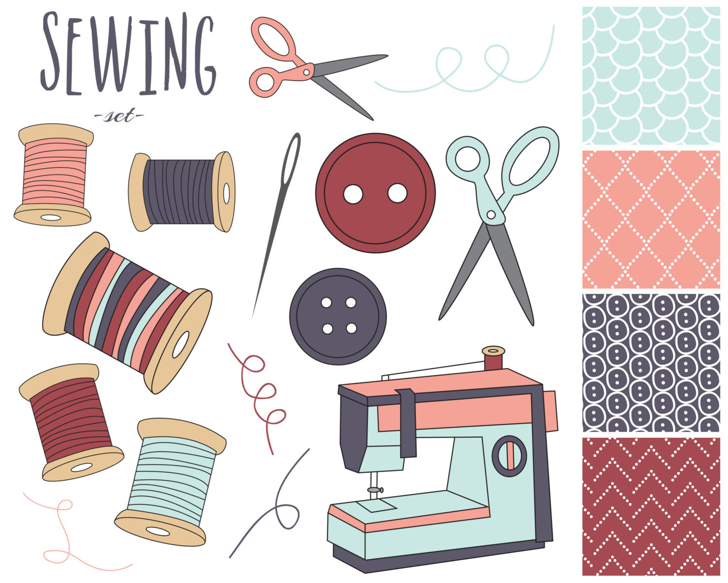 Free Sewing Kit Cliparts, Download Free Clip Art, Free ...