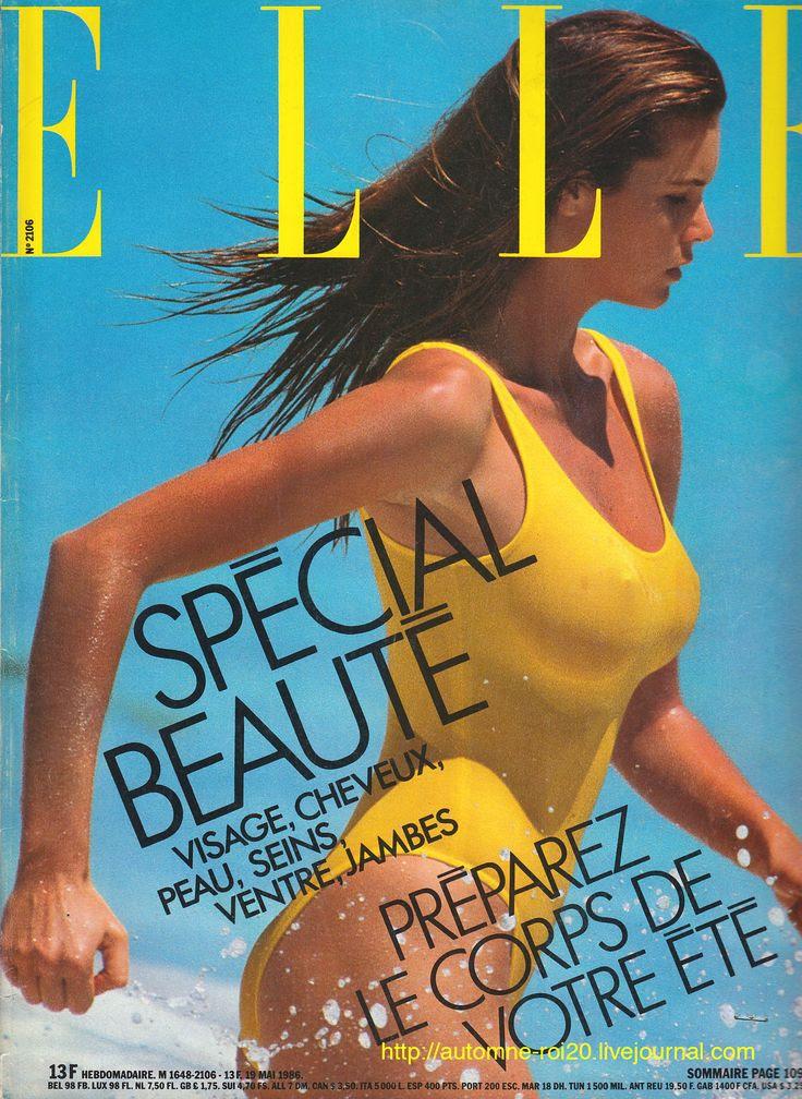Elle MacPherson  -  Elle May1986 by Gilles Bensimon