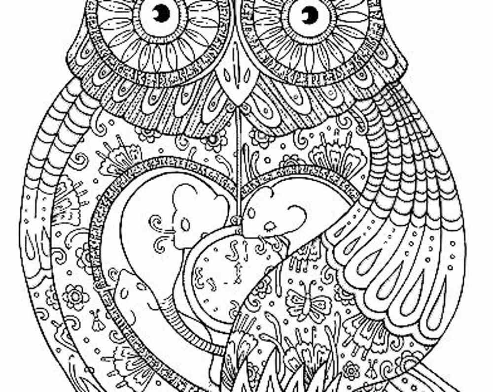 Adult Coloring Pages Pdf Free at GetDrawings | Free download