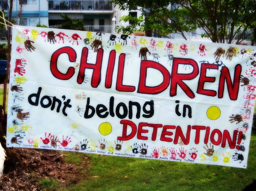 Children DON'T Belong in Detention!