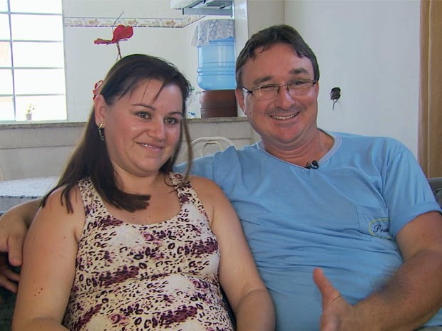 Mãe descobriu que estava grávida de trigêmeos ao perder um dos bebês (Foto: Michel Diogo/EPTV)