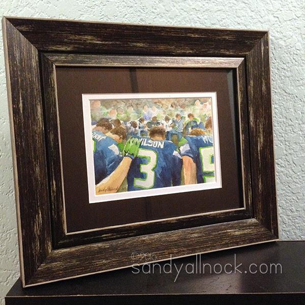Seahawks PreGame Prayer by Sandy Allnock