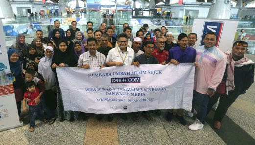 Image result for Medal-winning Paralympians depart for Saudi Arabia to perform umrah, courtesy of DRB-Hicom