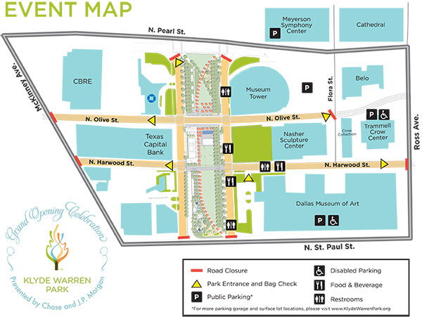 Grand Opening Map