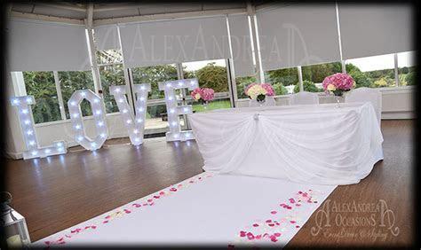 Wedding Decoration Hire in London Hertfordshire Essex