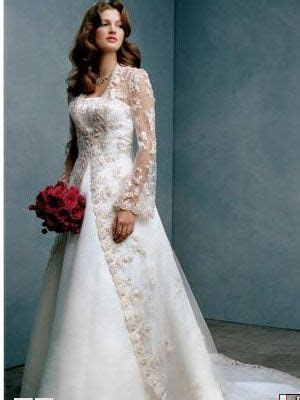 Floor length lace jacket over strapless sweetheart