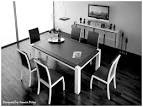dining room. Gorgeous Black and White Dining Rooms: Dazzling ...