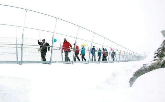 02-The Highest Suspension Bridge in Europe