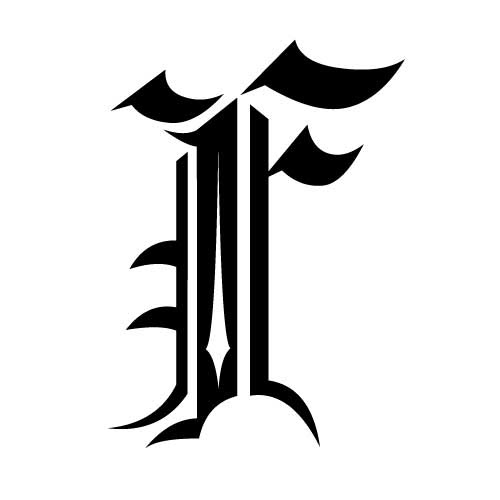 Modelos De Tatuajes De Escritura Y Letras Góticas Tatuajes Y Tattoos